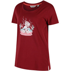 Regatta Filandra II - T-shirt manches courtes Femme - rouge